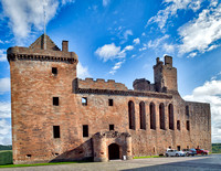 Linlithgow Palace was begun by James I in 1424.