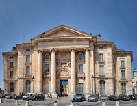 The Paris Law School designed by Jacques-Germain Soufflot on place du Panthéon.