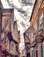 The Shambles.  The street was mentioned in the Doomsday Book of William the Conqueror in 1086.