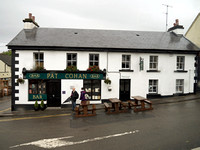 Pat Cohan Bar original location from the 1951 filming of The Quiet Man in Cong, County Mayo, Ireland.