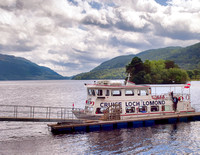 We cruised Loch Lomond.
