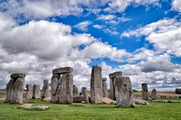 View of Stonehenge from the southwest.