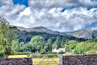 View to the southwest from the road into Grasmere.