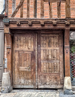 I love old doors, so much history has passed through them in Troyes on Rue Champeaux.