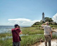 St. Marks National Wildlife Refuge - Ken and Don and great photo ops!