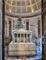 Scale model of the Pantheon.