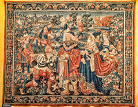 Tapestry in the Hospices de Beaune. Exquisite when viewed up close.