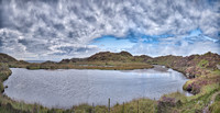 Loch Stanoig which provided Iona`s water supply until the 1980's when a pipeline was built to Mull.