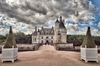 Early Morning at Chateau de Rochecotte and a visit to Chateau de Chenonceau