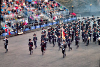 His Majesty The King of Norway's Guards Band and Drill Team.