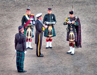 Opening ceremony of the Tattoo involves a bit of Scottish Whisky (and in Scotland it is spelled whisky NOT whiskey).