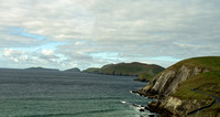Cliffs of Dunmore Head with Great Blasket just offshore.