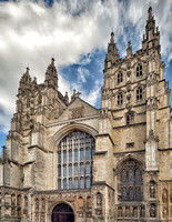 West entrance to Canterbury Cathedral.