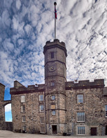 The Royal Palace in Crown Square in Edinburgh Castle.