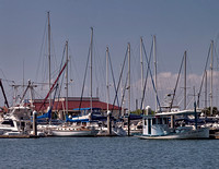 Port Aransas is home to a wide variety of boats.
