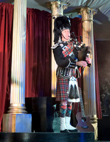 Bagpipe solo started the show, which has been performed for almost 40 years, it was a great evening!