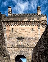 The Portcullis Gate Edinburgh Castle.